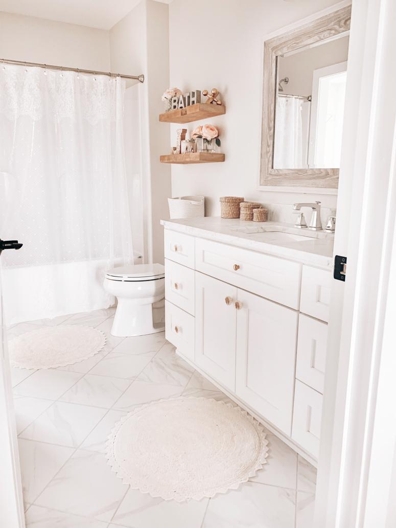 Girl S Bathroom Refresh Nina Williams Blog